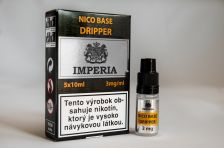 Nikotinová báza IMPERIA Dripper 5x10ml PG30 / VG70 3mg