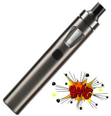 Joyetech eGo AIO elektronická cigareta 1500mAh Brushed Gunmetal 1ks