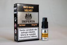 Nikotinová báza IMPERIA Velvet 5x10ml PG20 / VG80 3mg