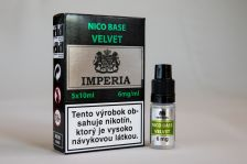 Nikotinová báza IMPERIA Velvet 5x10ml PG20 / VG80 6mg