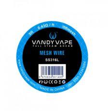 Vandy Vape Mesh SS316 1,67m