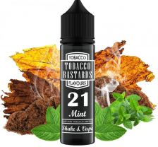 Flavormonks Tobacco Bastards Shake and Vape 12ml No.21 Mint