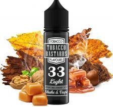 Flavormonks Tobacco Bastards S&V aróma 12ml - No.33 Light Tobacco