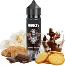 MONKEY liquid S&V aróma 12ml - Choco Bisquit