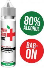 Antibakteriálny roztok - Hand Sanitizer Swiss PharMax - 60ml (80% alkoholu)