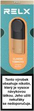 RELX Pod Pro-2 cartridge Classic Tobacco 18mg 2pack - vyladená chuť klasického tabaku
